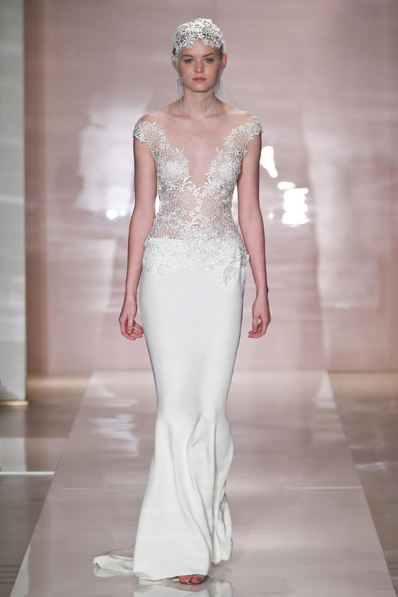 kristina wedding dress by reem acra fall 2014 bridal With reem acra wedding dresses