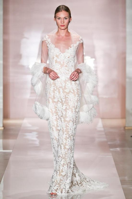 Lexa wedding dress by Reem Acra Fall 2014 Bridal