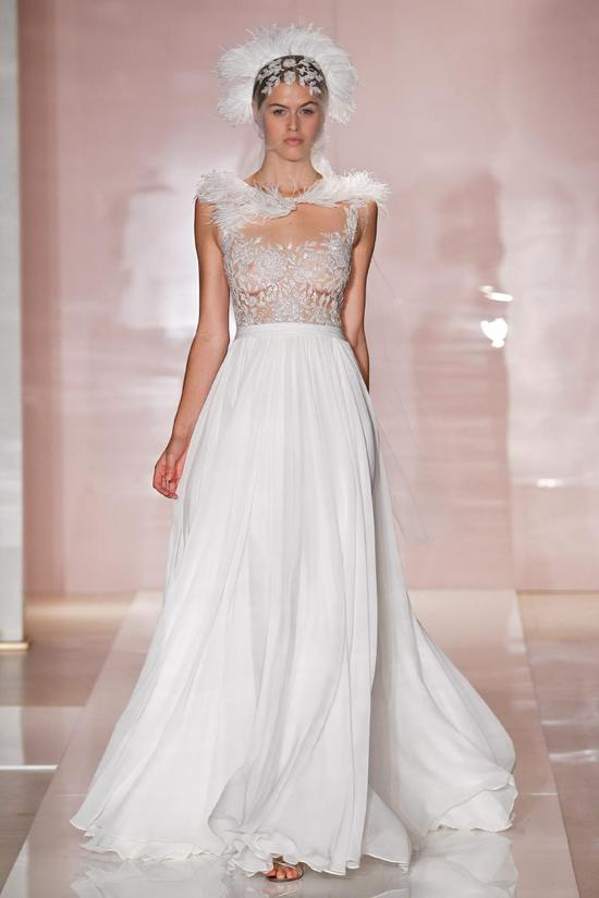 Dana wedding dress by Reem Acra Fall 2014 Bridal