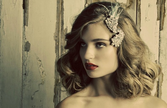 Chic wedding headpieces and jewelry