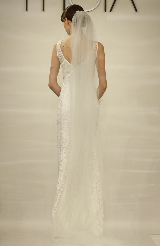 Geraldine wedding dress by Theia Fall 2014 Bridal