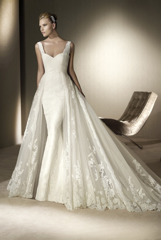 Wedding dress by San Patrick, 2012 collection