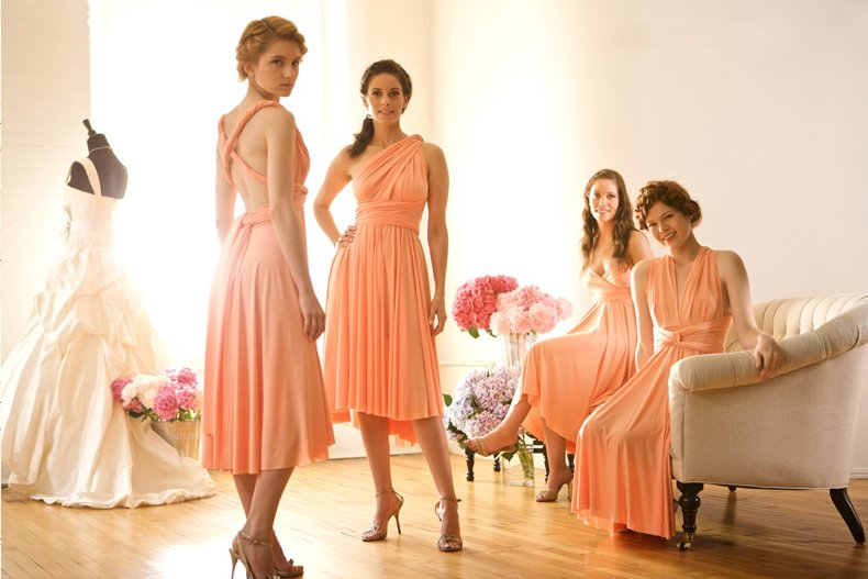 Convertible-bridesmaid-dresses-wrap-gowns-budget-wedding-ideas.full