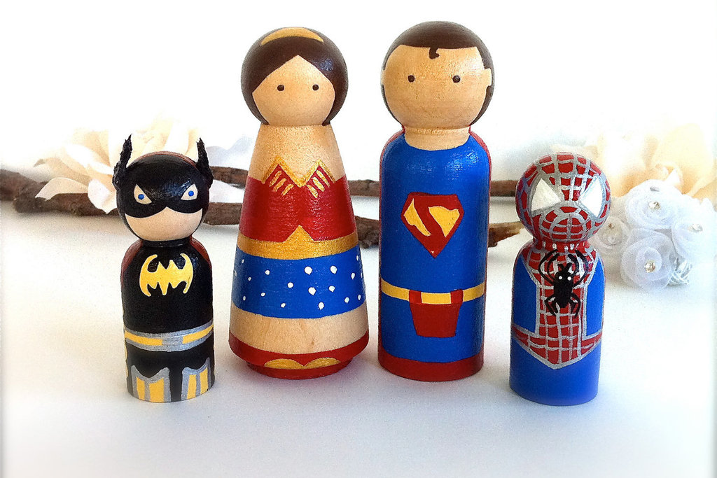 superhero family wedding cake topper family wedding cake toppers 20603