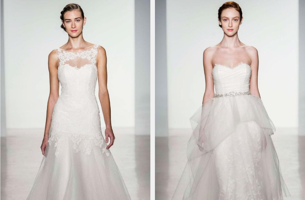 Corseted wedding dresses Christos