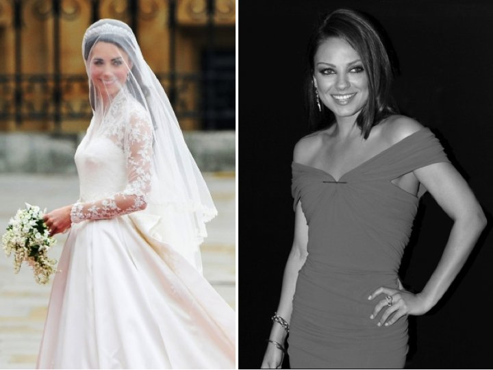 Celebrity secrets revealed- how to look 10 pounds thinner in wedding photos