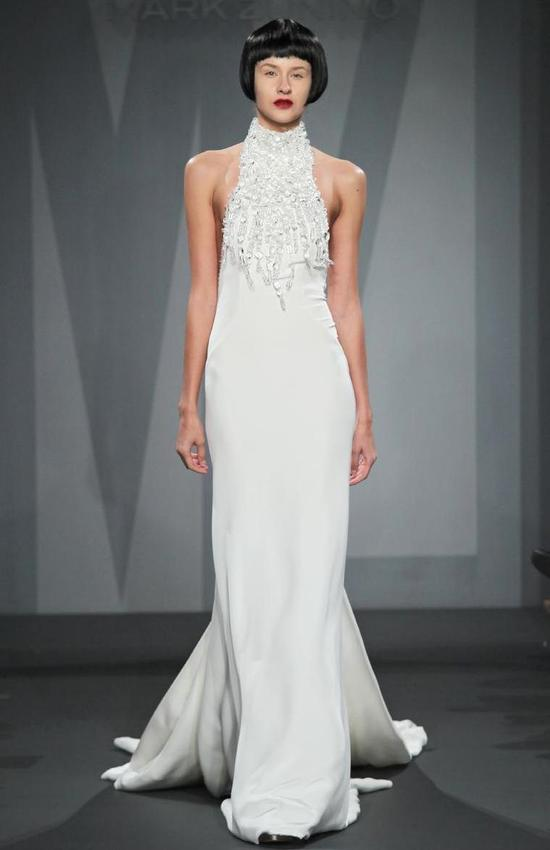 Mark Zunino wedding dress for Kleinfeld Fall 2014 Bridal 16