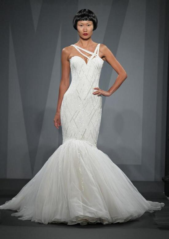 Mark Zunino wedding dress for Kleinfeld Fall 2014 Bridal 1
