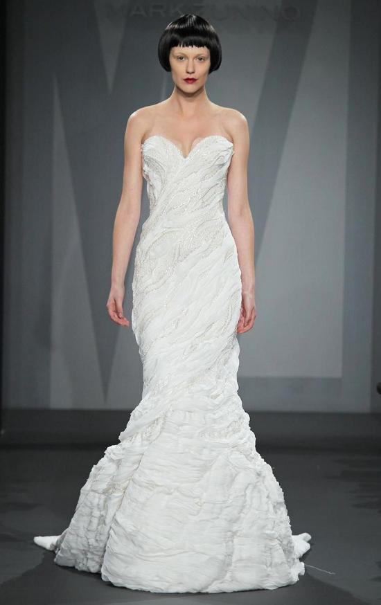Mark Zunino wedding dress for Kleinfeld Fall 2014 Bridal 2