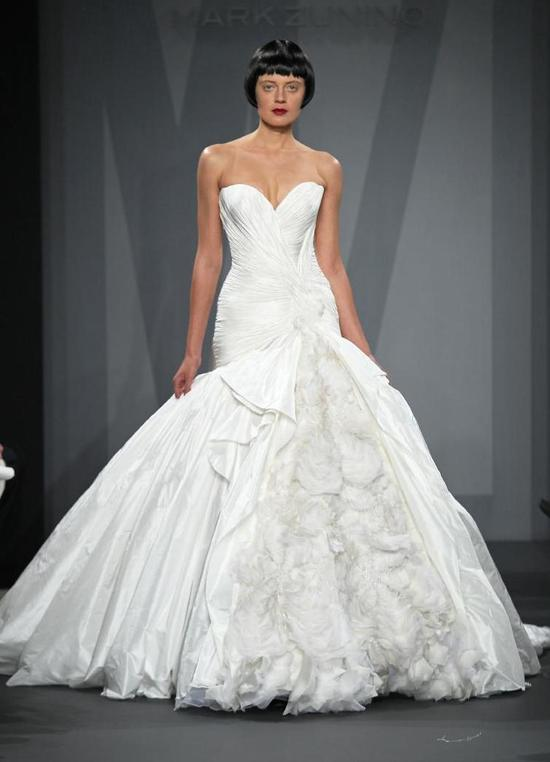 Mark Zunino wedding dress for Kleinfeld Fall 2014 Bridal 3