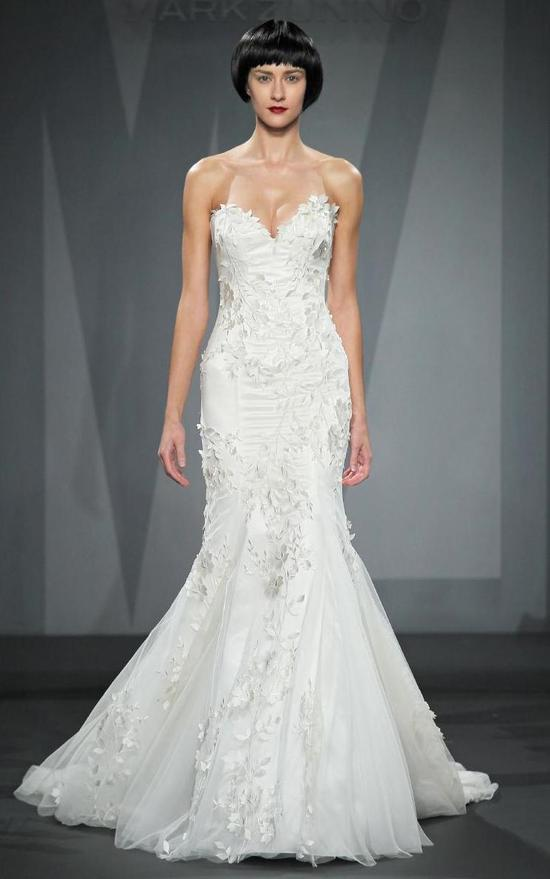 Mark Zunino wedding dress for Kleinfeld Fall 2014 Bridal 5