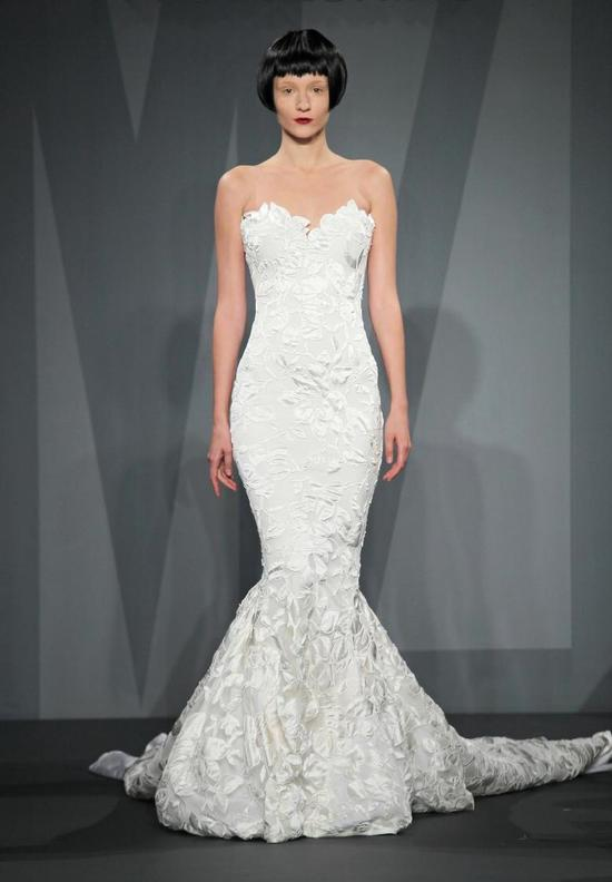 Mark Zunino wedding dress for Kleinfeld Fall 2014 Bridal 6