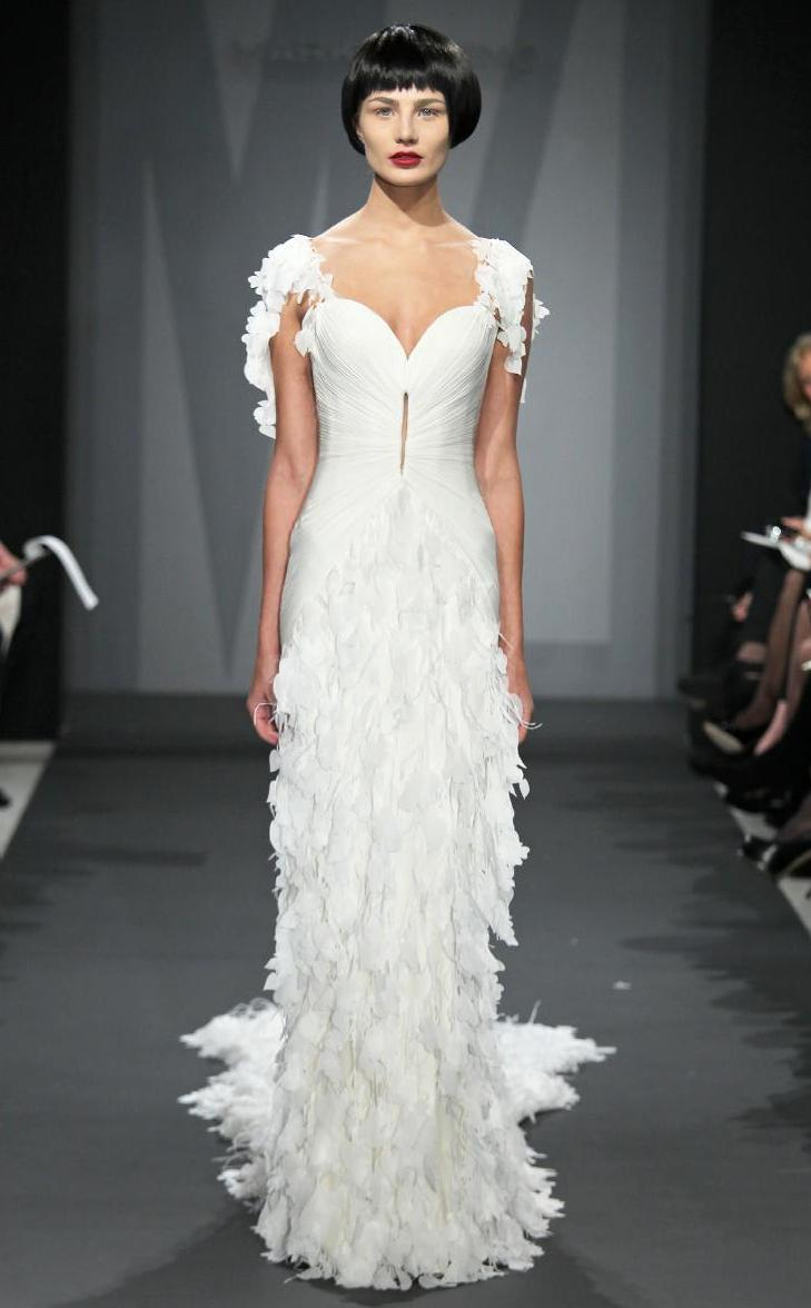 Vintage Wedding Dresses Kleinfelds : Mark zunino wedding dress for kleinfeld fall bridal onewed
