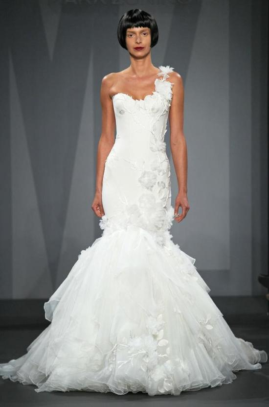 Mark Zunino wedding dress for Kleinfeld Fall 2014 Bridal 8