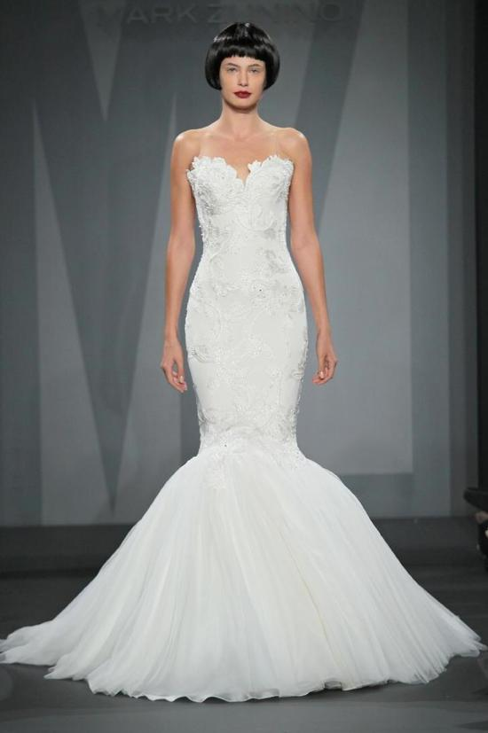 Mark Zunino wedding dress for Kleinfeld Fall 2014 Bridal 9