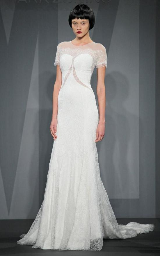 Mark Zunino wedding dress for Kleinfeld Fall 2014 Bridal 12