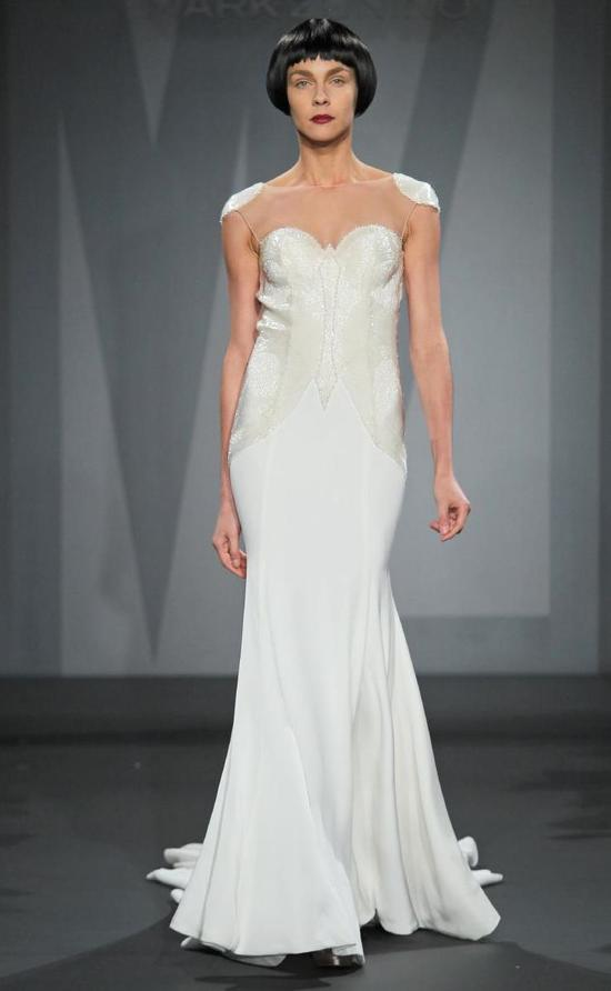 Mark Zunino wedding dress for Kleinfeld Fall 2014 Bridal 13