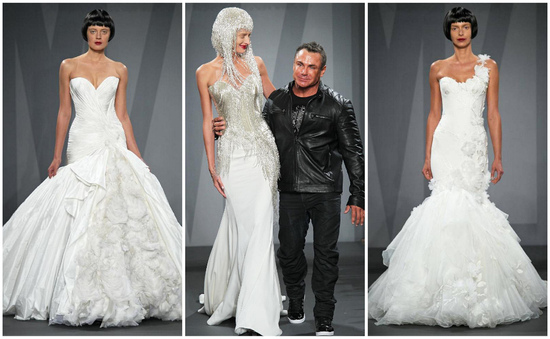 glamorous wedding gowns by Mark Zunino