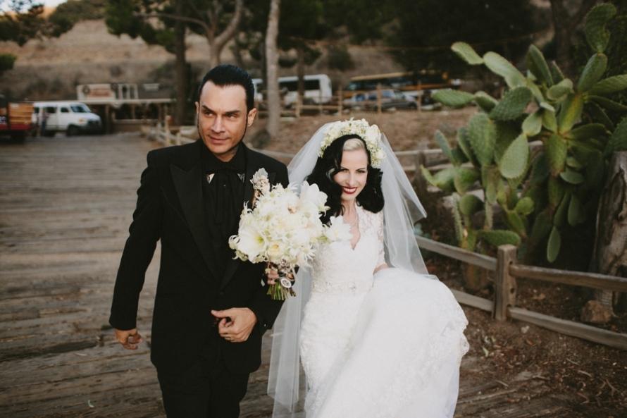 Portland-real-wedding-mod-goth-bride-and-groom.full