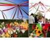 Outdoor-new-york-wedding-colorful-wedding-ceremony-flowers.square