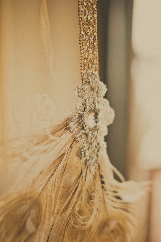 Vintage timeless bridal style
