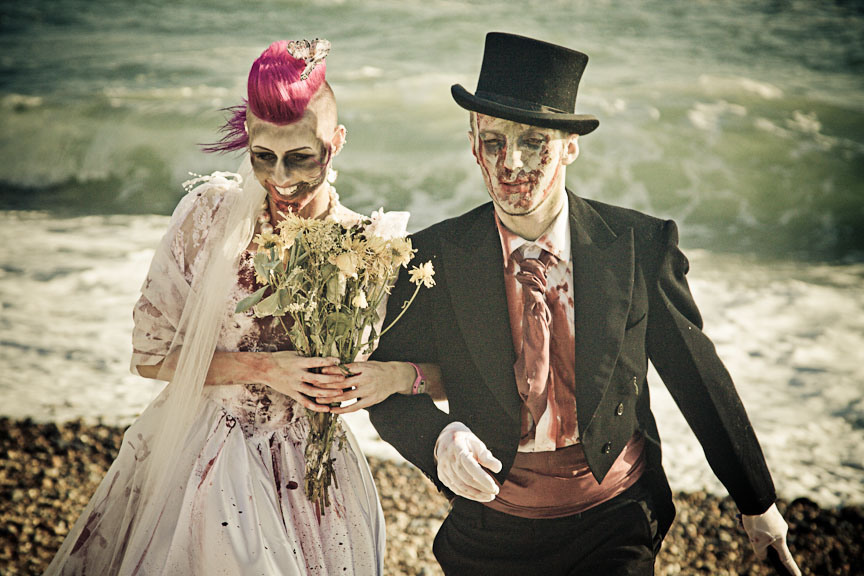 Freaky Zombie Wedding For Halloween