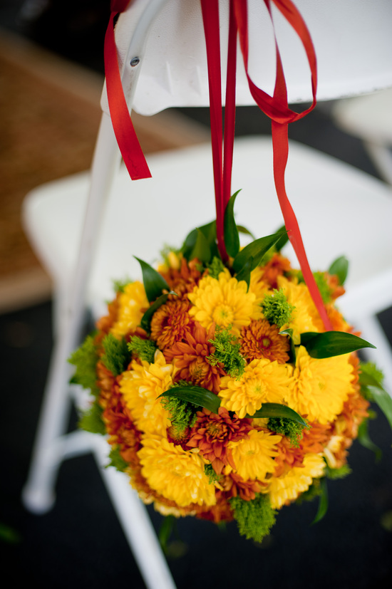 Orange Yellow Bouquet