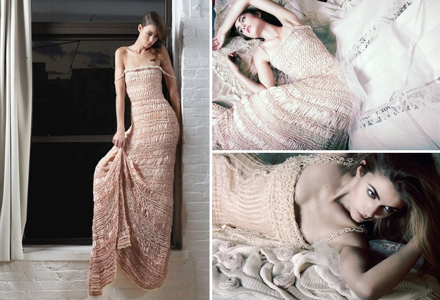 Surprising Gifts: Wedding Dress. Crochet Trends