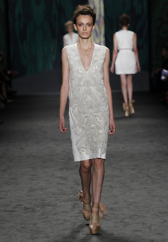 Crochet Vera Wang LWD for brides