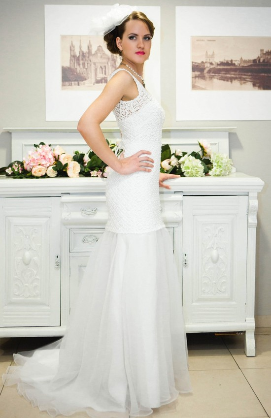 photo of The Crocheted Wedding Dress