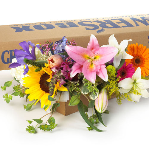 DIY Wedding Flowers - Mixed Flower Package - 500