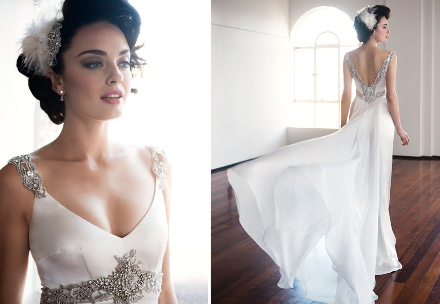 Anna Schimmel wedding dress 2013 bridal 1