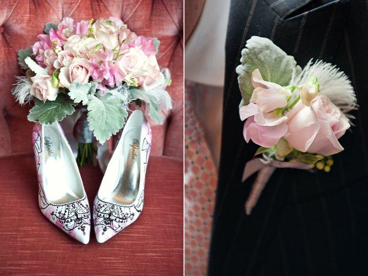Statement-wedding-shoes-romantic-bridal-bouquet.full