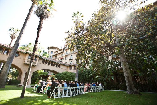 Elegant outdoor wedding in Pasadena