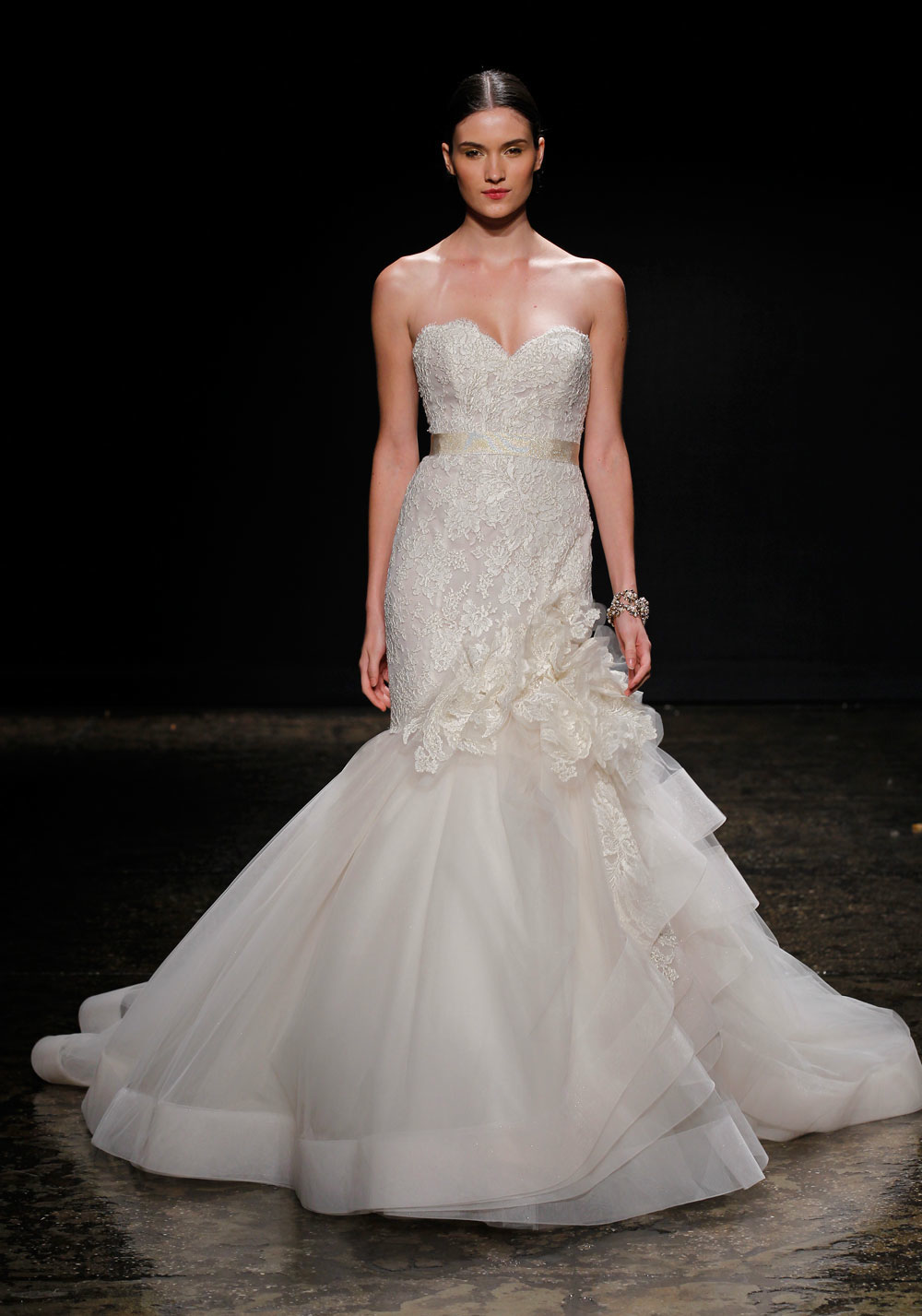 3415 wedding dress by lazaro spring 2014 bridal for Where to buy lazaro wedding dresses