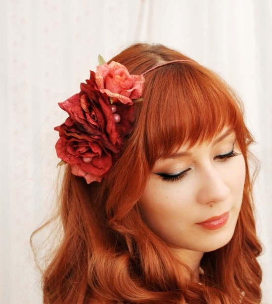 photo of Gardens of Whimsy bridal hair accessories