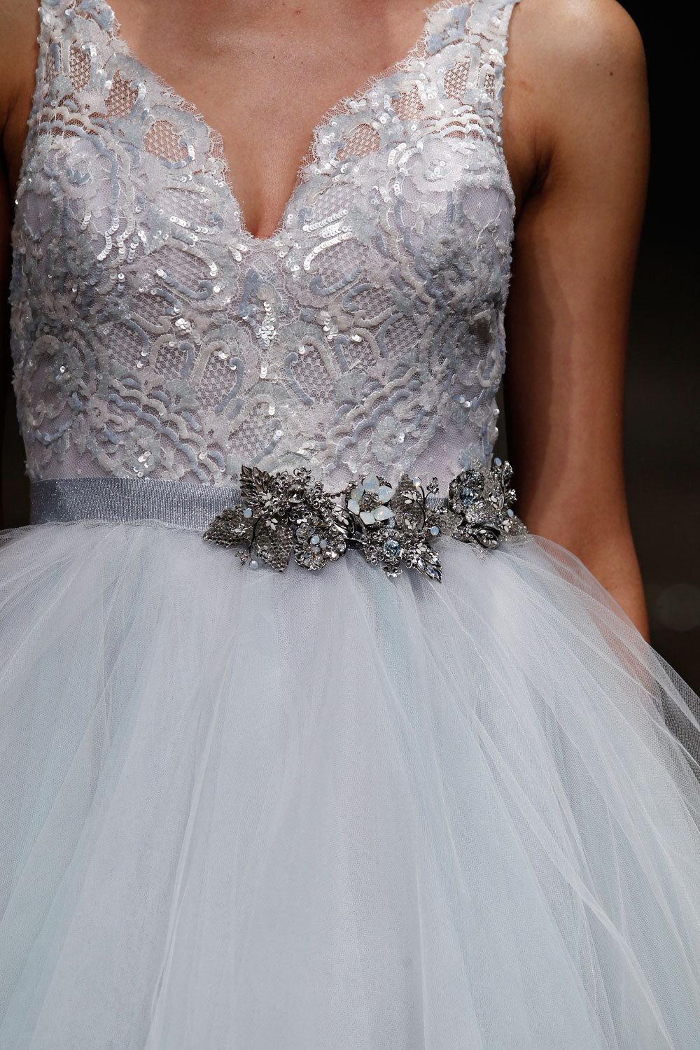 3414 wedding dress by Lazaro Spring 2014 Bridal