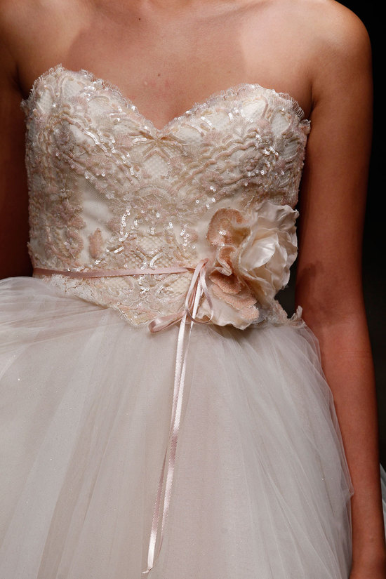3403 wedding dress by Lazaro Spring 2014 Bridal