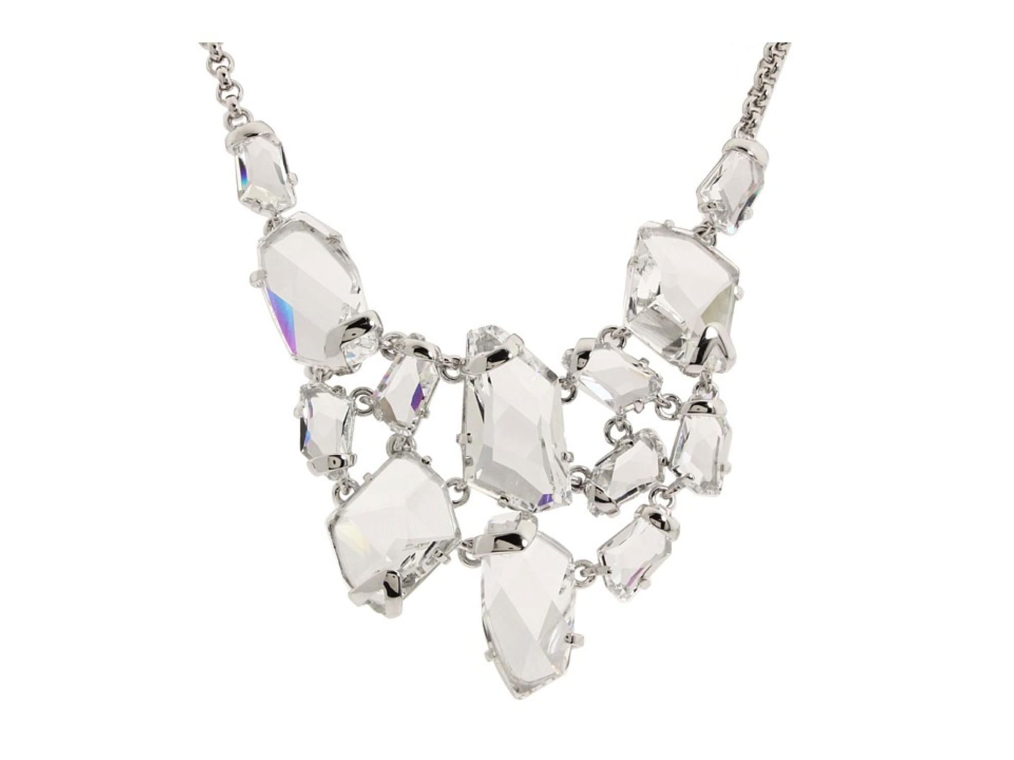 Statement wedding necklace crystal bridal jewelry original png