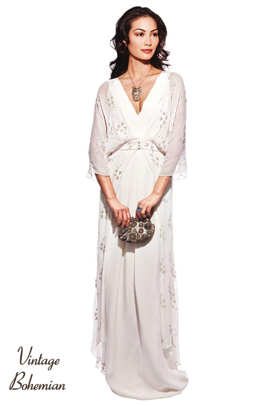 Bohemian style wedding dresses nyc Dress blog Edin