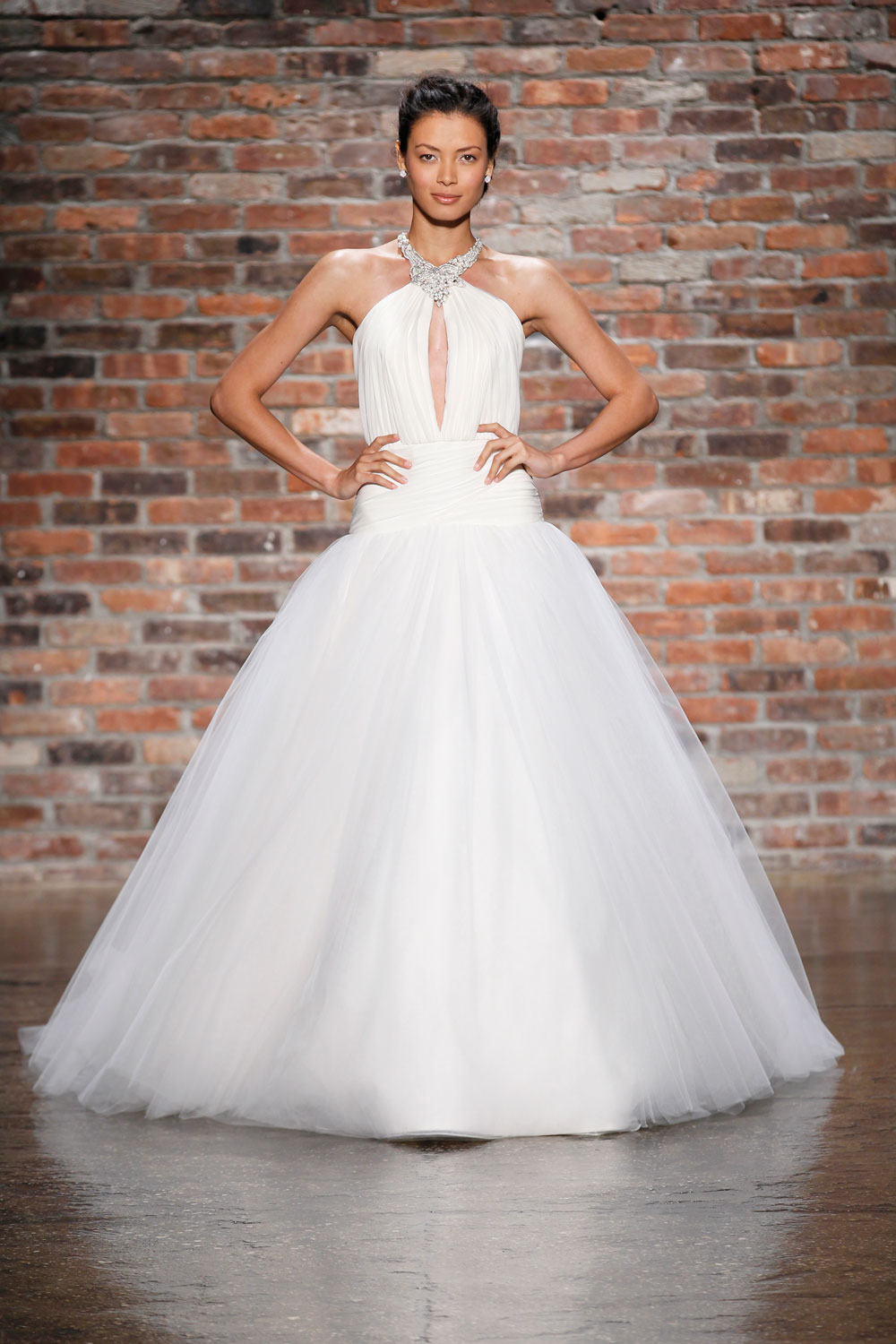 6406 wedding dress by hayley paige spring 2014 bridal for Hayley paige wedding dress