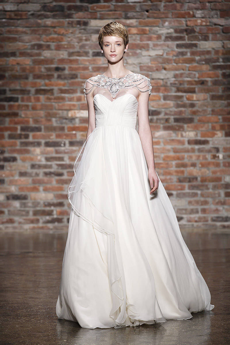 6409 wedding dress by hayley paige spring 2014 bridal for Hayley paige wedding dress