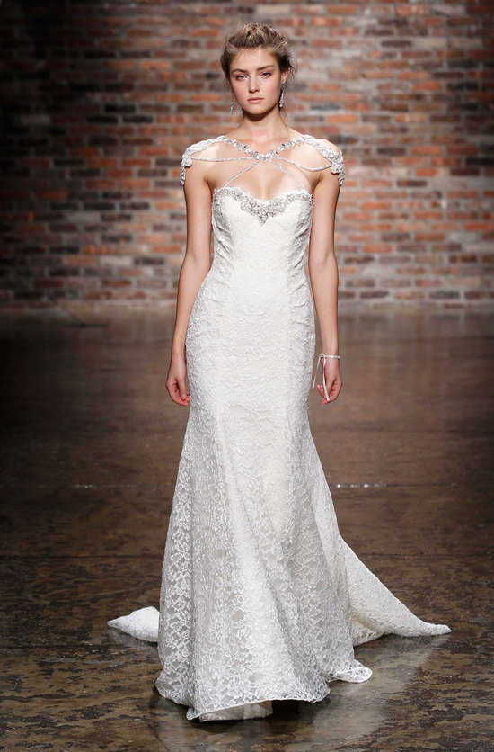 6410 wedding dress by Hayley Paige Spring 2014 Bridal