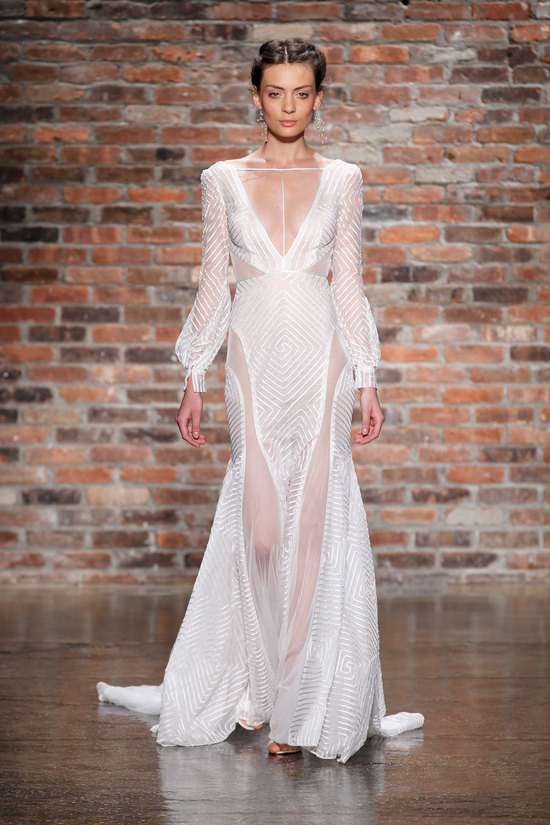 6414 wedding dress by Hayley Paige Spring 2014 Bridal