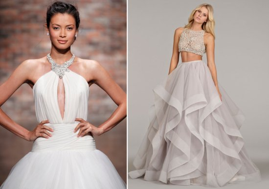 Hayley Paige Spring 2014 bridal gowns 3