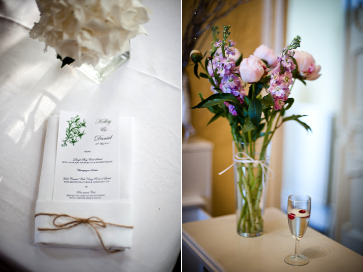 Romantic Destination Wedding Flowers And Irish Inspired Wedding