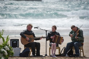 photo of Real Beach Destination Wedding Infused with Irish Culture