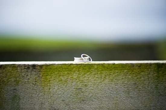 Eco-friendly wedding bands