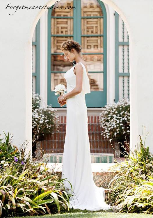 romantic bridal inspiration in California 5