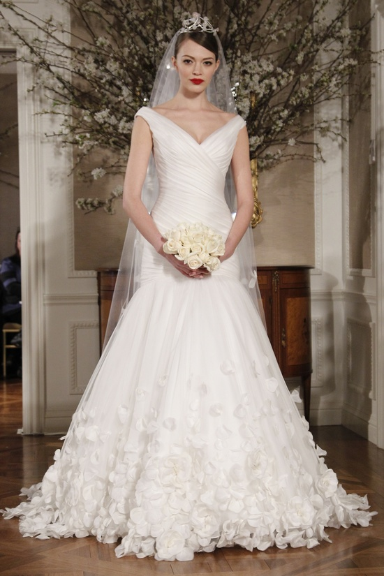 Romantic Romona Keveza Fall 2011 wedding dress